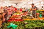 Marknadsdagar i Provence
